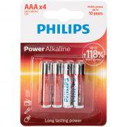 Philips Lot de 4piles alcalines AAA LR03