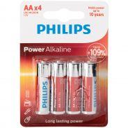 Philips Lot de 4piles alcalines AA LR06