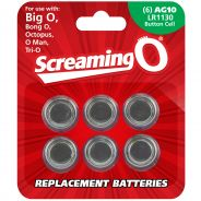 Screaming O Piles AG10 LR1130 6 pcs