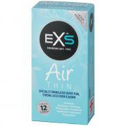 EXS Air Thin Pack de 12 préservatifs