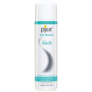 Lubrifiant à base d'eau Pjur Woman Nude 100 ml