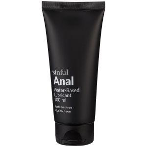 Sinful Anal Lubrifiant anal à base d'eau 100 ml