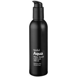 Sinful Aqua Lubrifiant à base d'eau 200 ml
