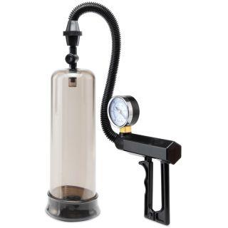 Pompe à pénis avec manomètre et poignée pistolet Pump Worx