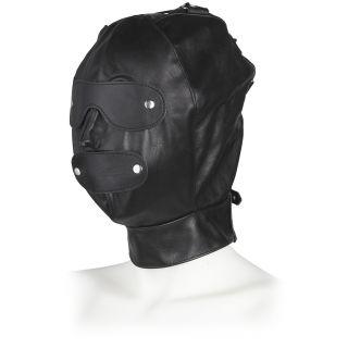 Masque ajustable en cuir Rimba
