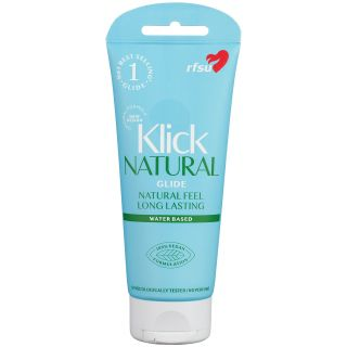 RFSU Klick Natural Glide Lubrifiant à base d'eau 100 ml