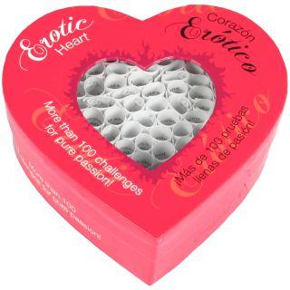 Erotic Heart Jeu Érotique pour Couples