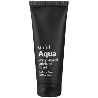Sinful Aqua Lubrifiant à Base d'Eau 50 ml
