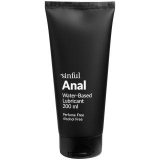 Sinful Anal Lubrifiant anal à base d'eau 200 ml