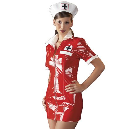 Black Level Costume Infirmière effet Laqué