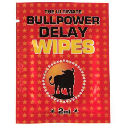 Bull Power Delay Pack de 6 Lingettes