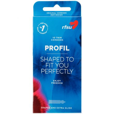 RFSU Profile Lot de 10 préservatifs