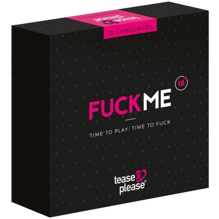 Tease & Please FuckMe Jeu de Cartes Coquin pour les Couples