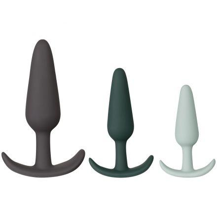 Amaysin Ensemble de trois plugs anaux
