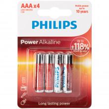 Philips LR03 AAA Alkaline Batterier 4 stk  1