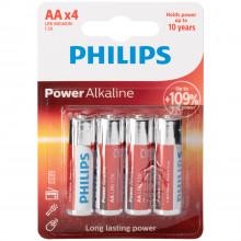 Philips LR06 AA Alkaline Batterier 4 stk  1