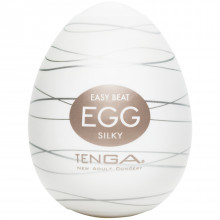 TENGA Egg Silky Onani Håndjob til Mænd Product 1