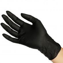 Sorte Latex Handsker 20 stk  1