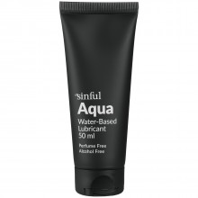 Sinful Aqua Vandbaseret Glidecreme 50 ml Product 1