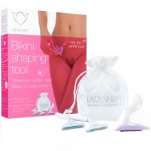 Ladyshape Bikini Shaping Pochoir de Rasage Cœur  1