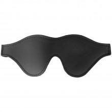 Spartacus Læder Blindfold med Kunst Pels Product 3