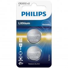 Philips CR2032 Alkaline Batteri 2 stk Product 1