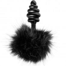 Tailz Black Bunny Tail Anal Plug  1