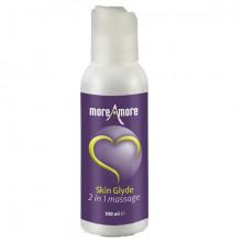 Moreamore Skin Glyde 2 en 1 Massage et Lubrifiant 100 ml  1