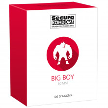 Secura Big Boy Préservatifs 100 pcs  1