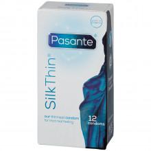 Pasante Silk Thin Kondomer 12 stk Pack 90