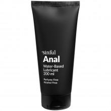 Sinful Anal Lubrifiant Anal à Base d'Eau 200 ml  1