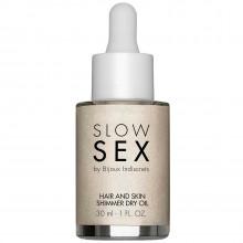 Slow Sex by Bijoux Hair and Skin Huile avec Paillettes 30 ml  1
