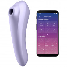 Satisfyer Dual Pleasure Suction Vibrator Product app 1