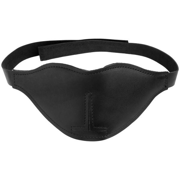 Spartacus Læder Blackout Blindfold Product 1