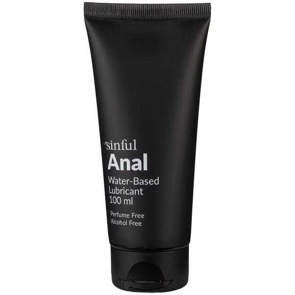 Sinful Lubrifiant anal à base d'eau de 100 ml