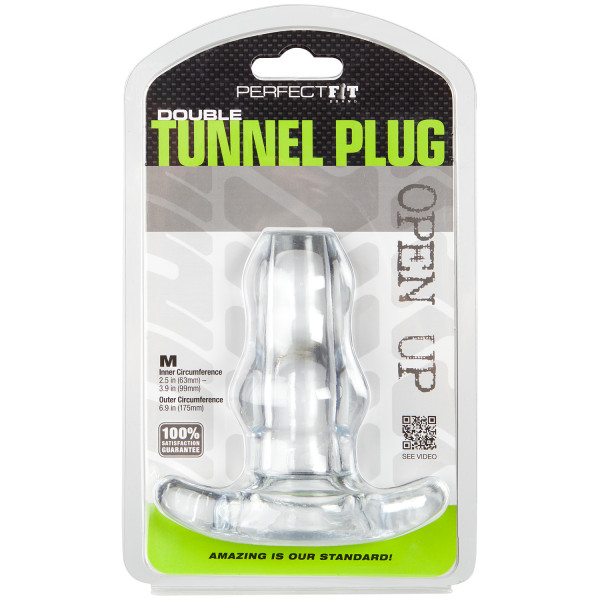 Perfect Fit Double Tunnel Plug moyen