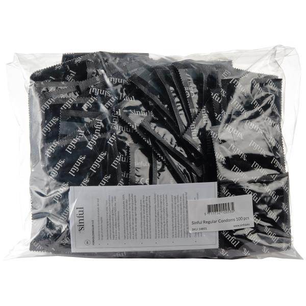 Sinful Regular Kondomer 100 stk Pack 90