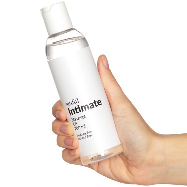 Sinful Intim Massageolie 200 ml  Hand 50