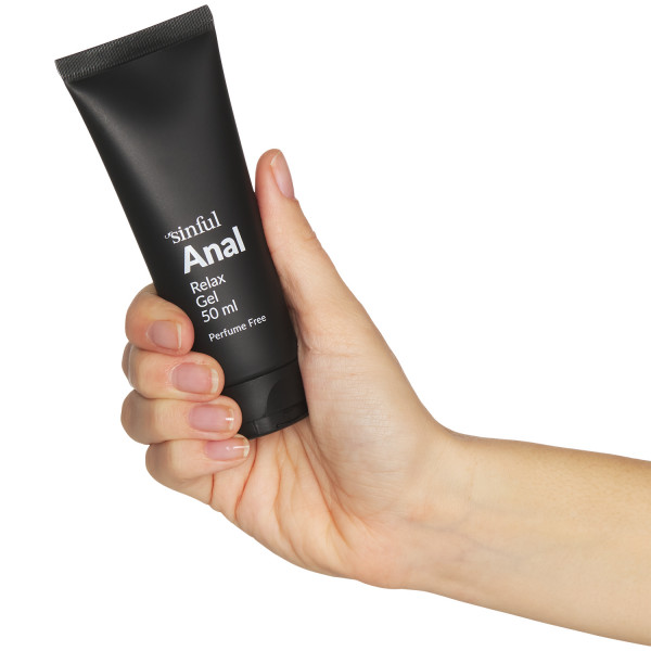 Sinful Anal Relax Gel 50 ml Hand 50