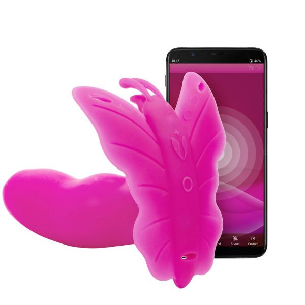 Realov Lydia I Smart Butterfly Vibrator Product app 1