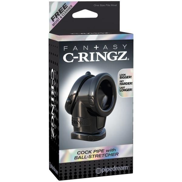 Fantasy C-Ringz Cock Pipe med Ball Stretcher  3