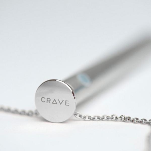 Crave Vesper Halskæde med Vibrator Sølv  2