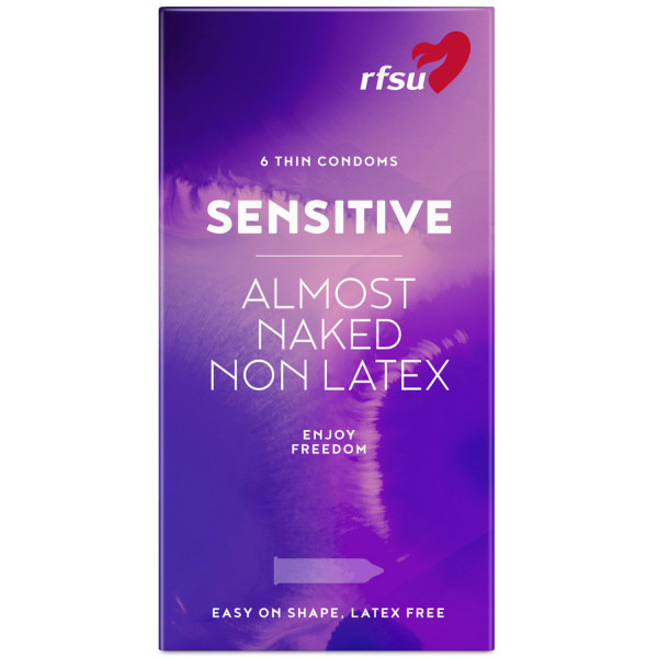 RFSU So Sensitive Latexfri Kondomer 6 stk  1