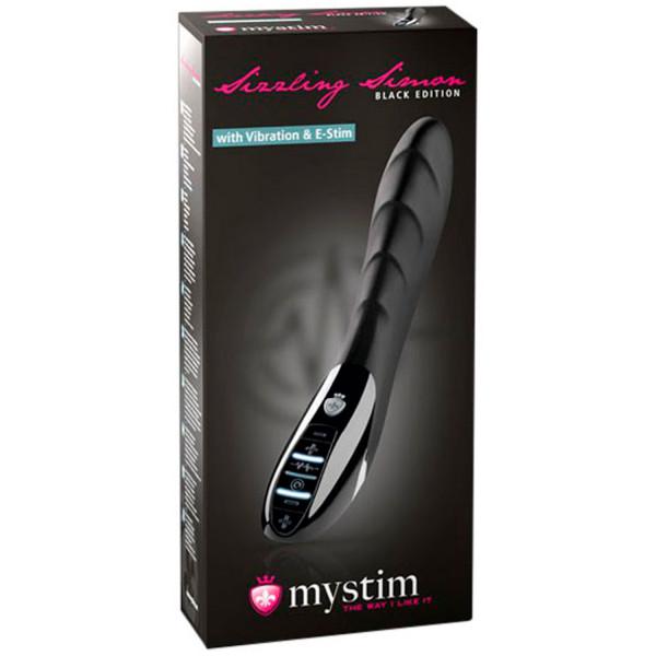 Mystim Sizzling Simon E-Stim Vibrator  3