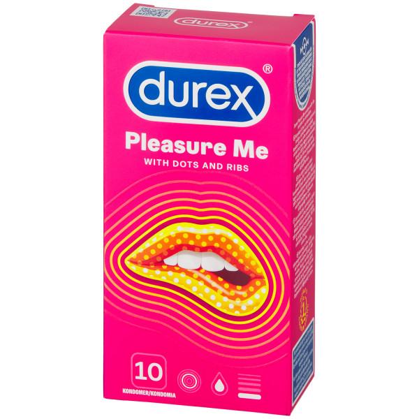Durex Pleasure Me Kondomer 10 stk Pack 90