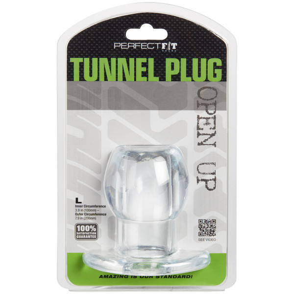 Perfect Fit Ass Tunnel Plug Large Pack 90