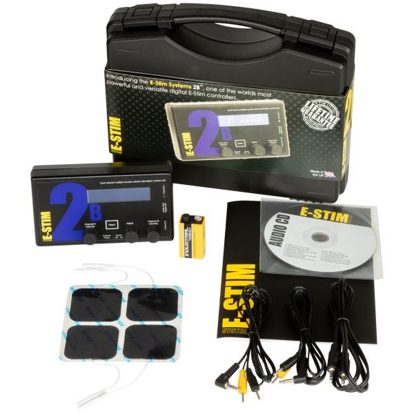 E-Stim 2B Elektro Power Box Sæt  3
