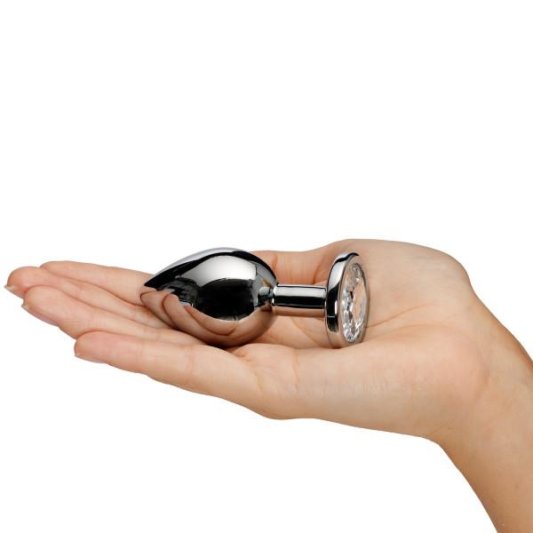 Sinful Jewel Stål Butt Plug Medium Hand 50