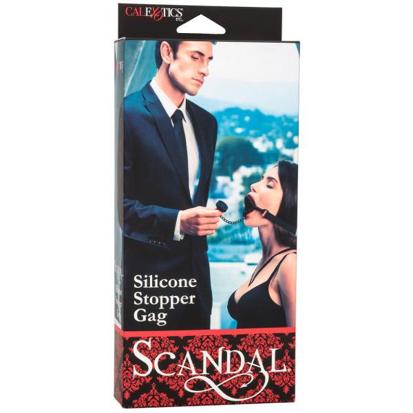Scandal Silikone Stopper Gag  3