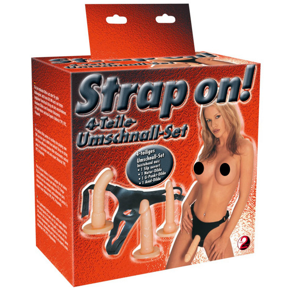 You2toys Strap-on Sæt  2